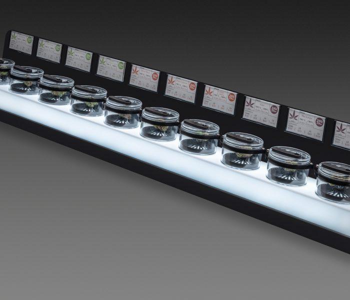 Canna-Pod Bar Display